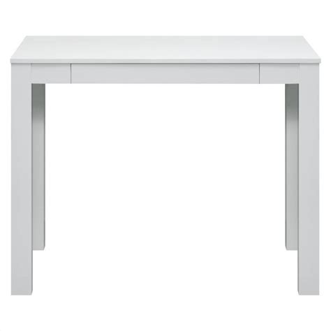 White Parsons Desk by Altra Furniture Parsons Writing Desk In White 9178096