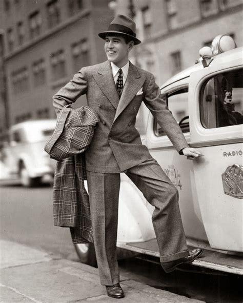 a popular style of 1930s suit 1930s men s suits fashion mens suits