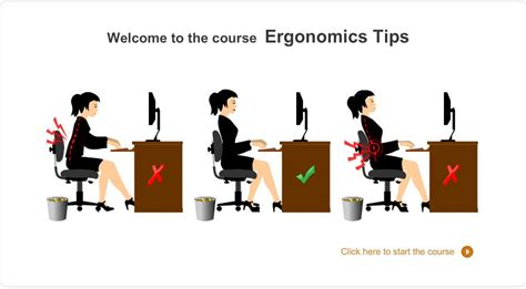 Ergonomic Desk by Safety Training Ergonomics Training Through Elearning Part 1