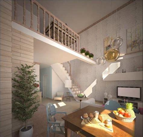 marvelous Staircase Christmas Decorating Ideas #2: space-saving-loft-designs-modern-interiors-15.jpg