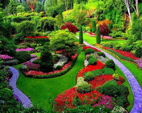 Gardens Canada by Yoges Great Nature Butchart Gardens Near
