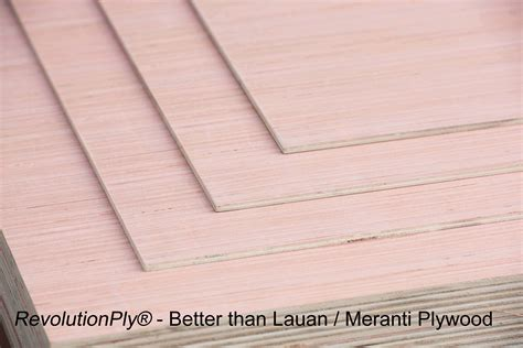 meranti plywood lauan vs revolutionply