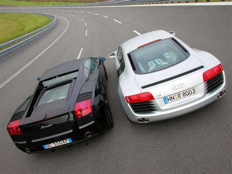 Audi R8 Or Lamborghini Gallardo Diff 233 Rences Et Similitudes Entre L Audi R8 Et La