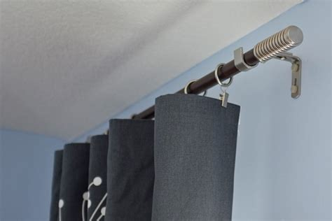 12 drapery rod 12 ft curtain rod furniture ideas deltaangelgroup
