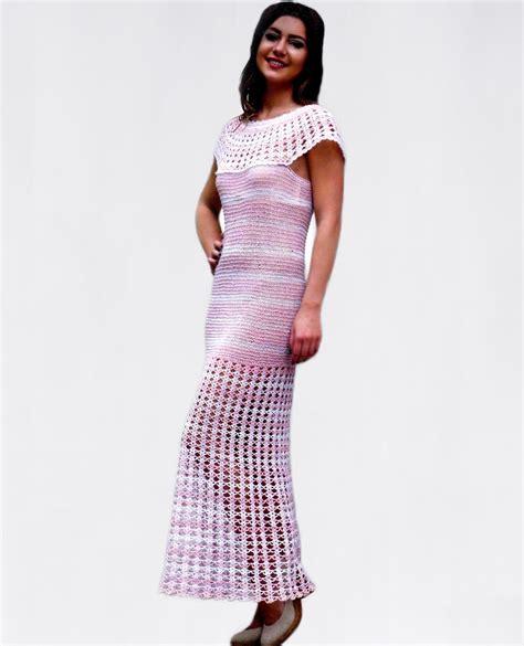 pattern maxi dress maxi dress pattern with crocheted round yoke and bottom