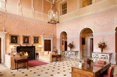 rousham house  hall interiors pinterest hall