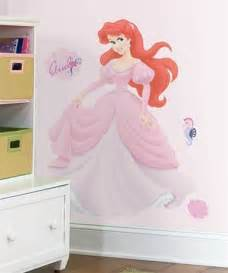 Disney Wall Stickers For Kids Bedrooms Large Disney Princess Decals Ariel Mural Little