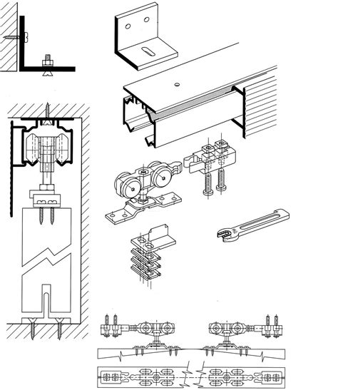 Pasang Kunci Pintu cara pasang pintu sliding single bag 2 alsubangkit aluminium