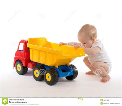 toddler truck infant child baby boy toddler big car truck yellow