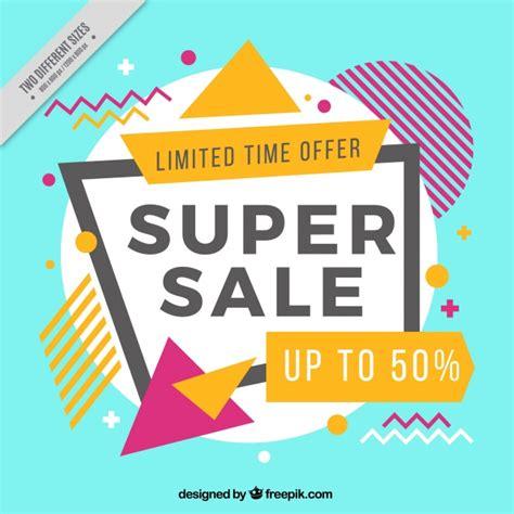 event design memphis memphis style discount background vector free download