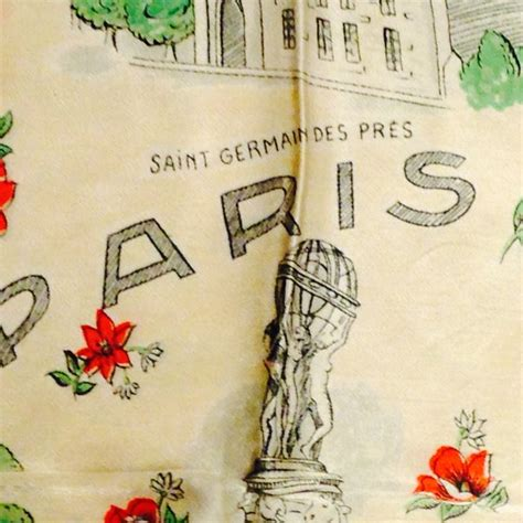 Kitchens With Different Color Cabinets Fabulous Paris 1950s Scarf Vintage Shop Flat Live Work