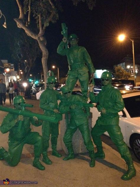 coolest diy costume idea story story soldiers costume