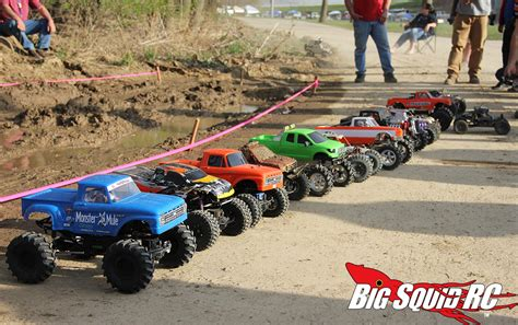 truck rc racing event coverage mega truck mud race axial iron mountain
