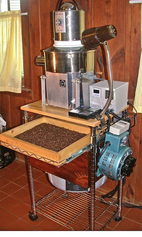 build  coffee roaster  scratch