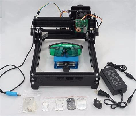 10w laser diode cnc 10w as 5 usb desktop cnc laser engraver diy marking machine for metal wood ebay