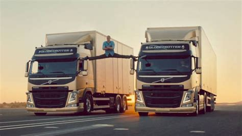 2013 volvo truck commercial video jean claude van damme this is an epic splits