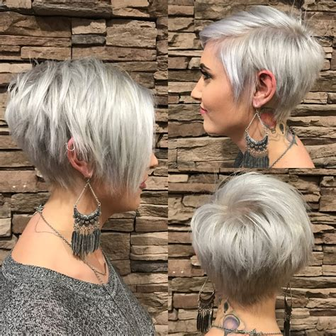 pixie cut with long fringe short hair pinterest long long pixie with bangs silver haircuts pinterest