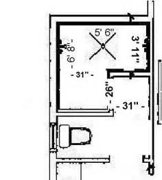 minimum doorless walk in shower dimensions studio