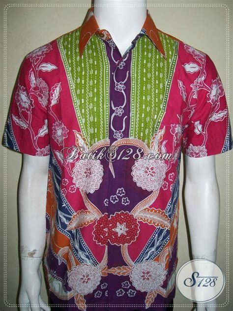 Baju Sepeda Rangcing Warna Warni baju batik warna warni batik tulis pria ngejreng unik tetap elegan dan eksklusif coyyy ld863t