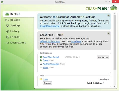 crashplan home avie home