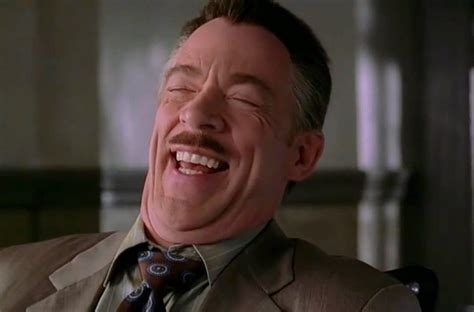 J Jonah Jameson Meme - j k simmons says he d love to return as j jonah jameson