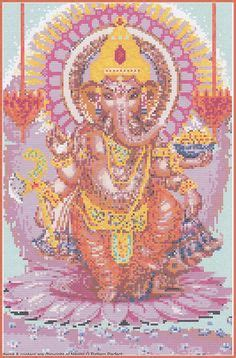 free download pattern remover cross stitch dansing ganesha xstitch chart design