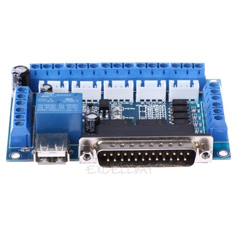 stepper motor with pc 3 axis stepper driver board with pc interface