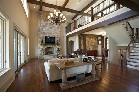 Traditional Indian Living Room Designs by Cuscowilla Lake Home Indian Trail Traditional Living