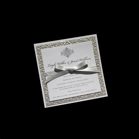 Handmade Engagement Invitations - birthday invitations handmade to your requirements