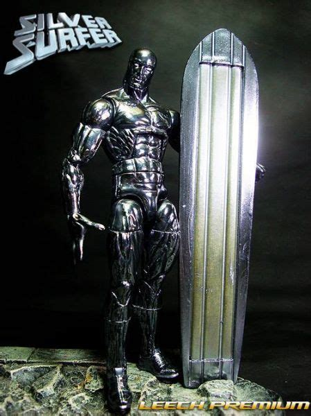 Silver Surfers Custom silver surfer marvel legends custom figure amazing custom figures