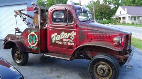dodge wrecker 1941 dodge power wagon wrecker buffyscars