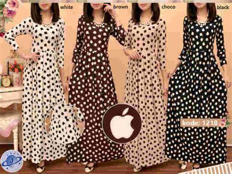 Maxi Aliyah Premium dress cantik dan gamis muslim siput store