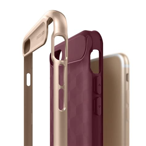 Caseology Iphone 7 Plus Parallax Series Burgundy Original jual caseology iphone 7 parallax series burgundy