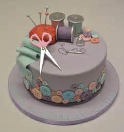Sewing and needlework cake girls birthday cakes celebration cakes