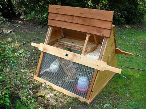 Awesome Chicken Coops Easy Homemade Chicken Coop Coop Side Opens Easily