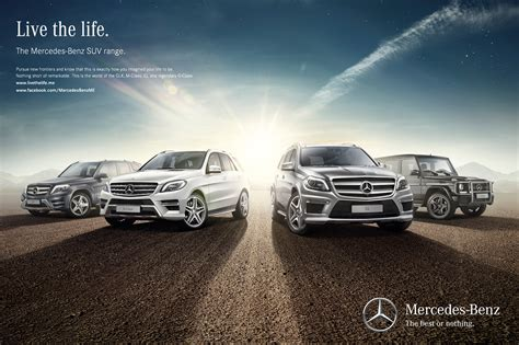 mercedes ads 2014 mercedes benz suv cars caign on behance