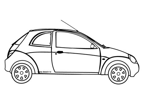 voiture de pin coloriage ford on pinterest
