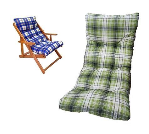 cuscini per sdraio da giardino ricambio cuscino poltrona relax sedia sdraio harmony in