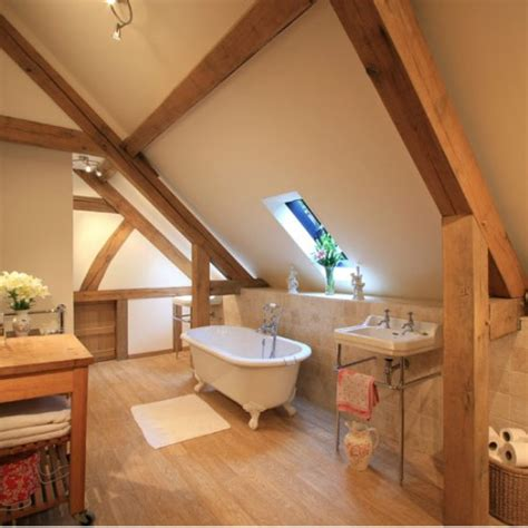 attic bathroom ideas 33 cool attic bathroom design ideas shelterness