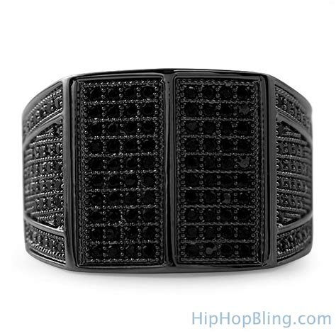 celebrity bling jewelry celeb black cz bling bling ring black bling bling rings