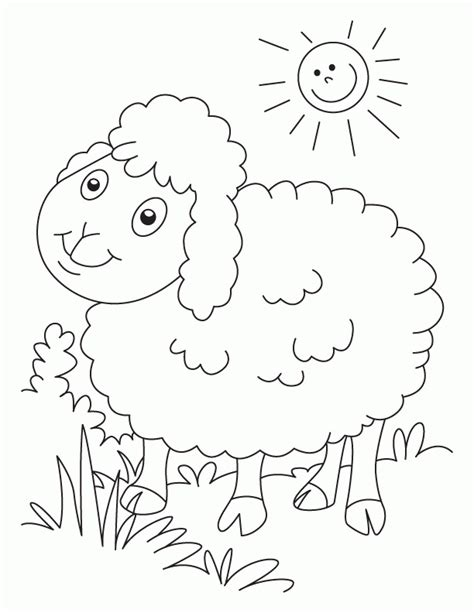 Black Sheep Coloring Pages Coloring Pages For Free | baa baa black sheep coloring pages coloring home