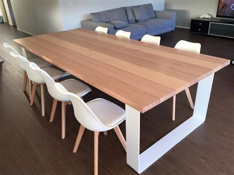 Kitchen With Island Bench by Tasmanian Oak Dining Table Australia Lumber Furniture