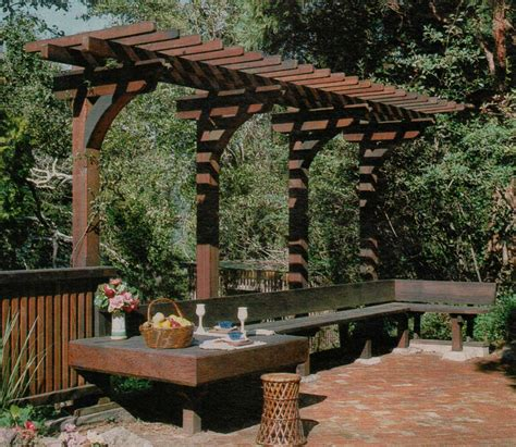 pergola bench 1000 images about pergola swings and arches on pinterest