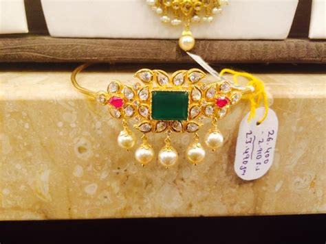Baju Bandh Of Gold bajubandh boutiquedesignerjewellery