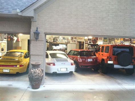 4 car garage size 4 cars in a 3 car garage pelican parts technical bbs