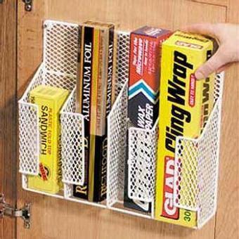 wire cabinet door organizer cabinet door mount wire mesh wrap organizer 133008