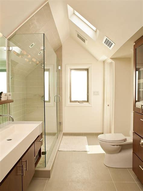 27 design ideen f 252 r badezimmer mit dachschr 228 ge - Small Master Bad Design Ideen