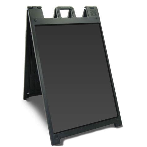 board a signicade deluxe a board black or white 24 quot x 36 quot sandwich board