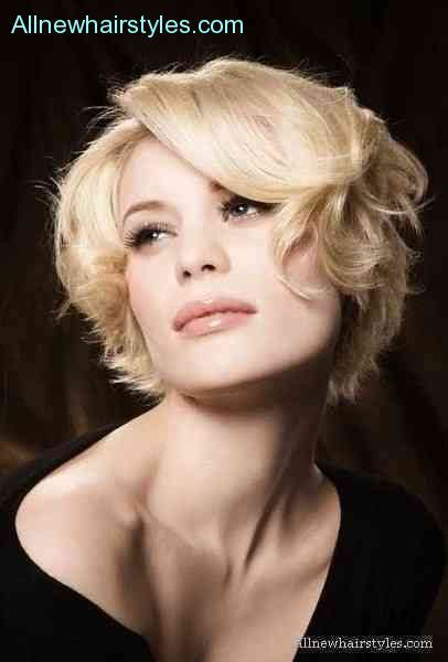 curly chin length cut chin length wavy hairstyles allnewhairstyles com