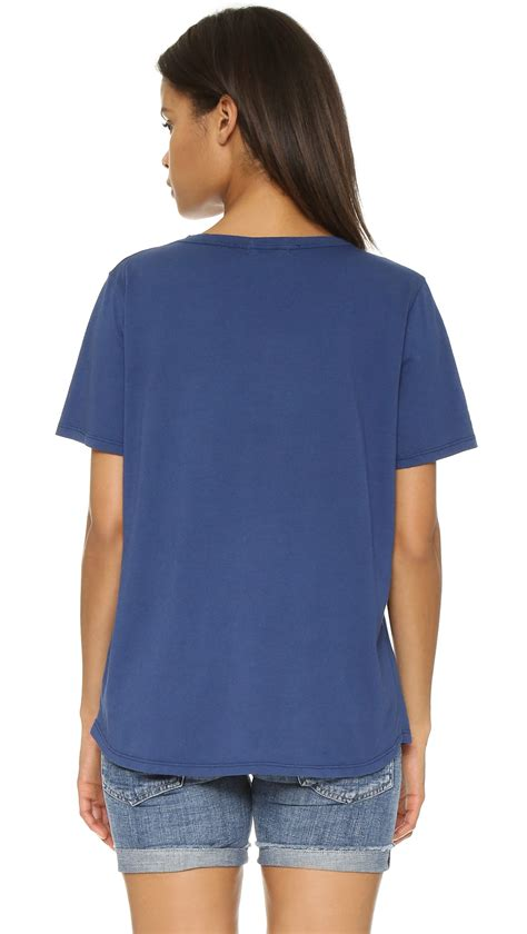 Positive Vibes Navy Speedtuner Tees lyst mikoh swimwear vibes only in blue